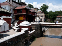 The Bagmati River @ Pashupatinath Temple